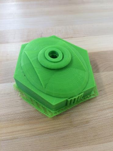 Prototype for water bottle top